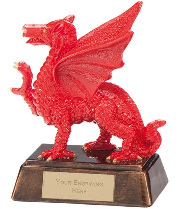 "Celtic Dragon Award 13.5cm (5.25"")"