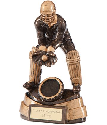 "Legacy Cricket Wicket Keeper Award 17cm (6.75"")"