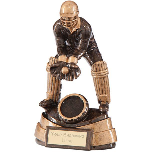 "Legacy Cricket Wicket Keeper Award 14cm (5.5"")"