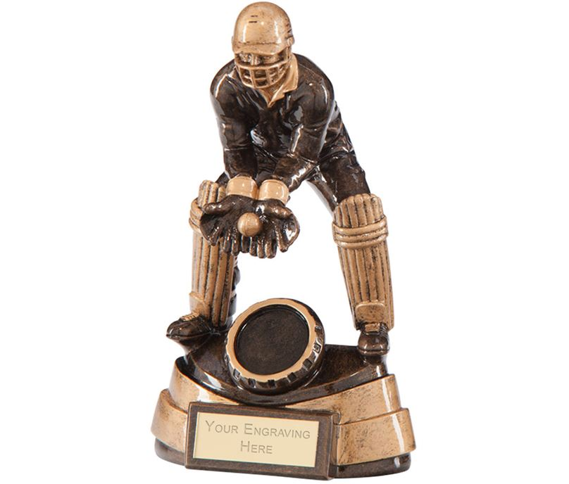 "Legacy Cricket Wicket Keeper Award 14cm (5.5"")"
