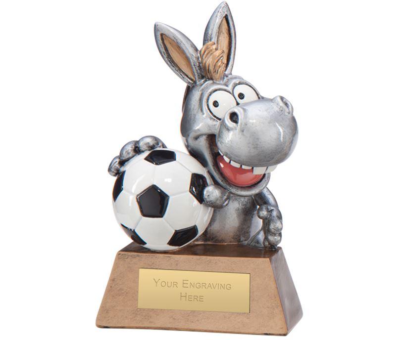 "What A Donkey! Football Award 13cm (5"")"