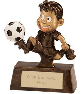 "Little Champion Football Award 8.5cm (3.25"")"