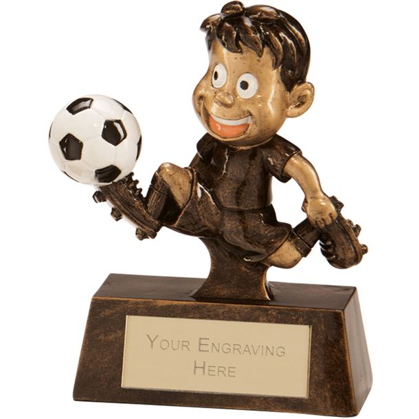 "Little Champion Football Award 8.5cm (3.25"")"