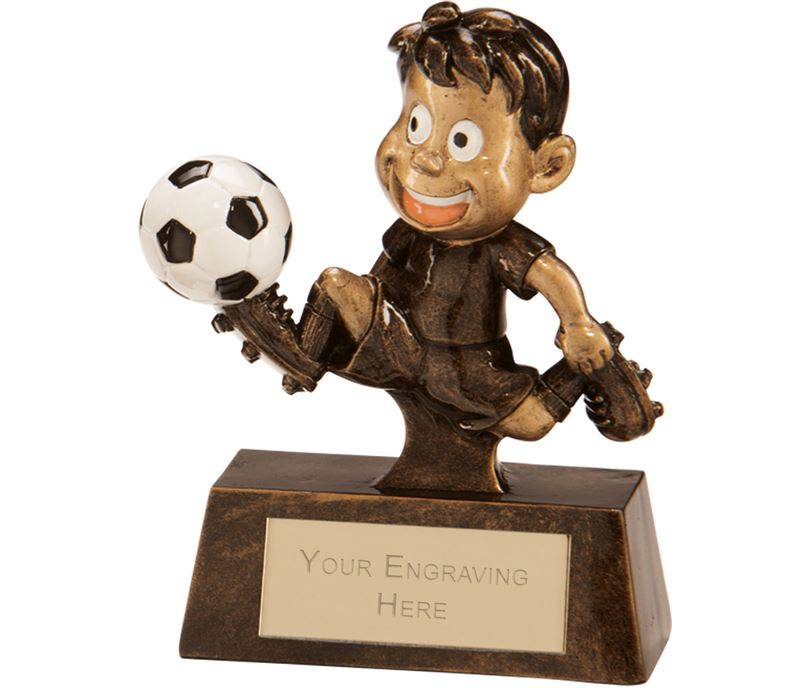 "Little Champion Football Award 10cm (4"")"