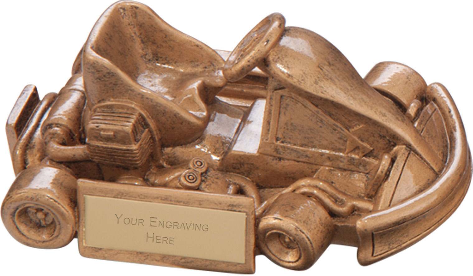 Top Speed Karting Award 6.5 x 14cm