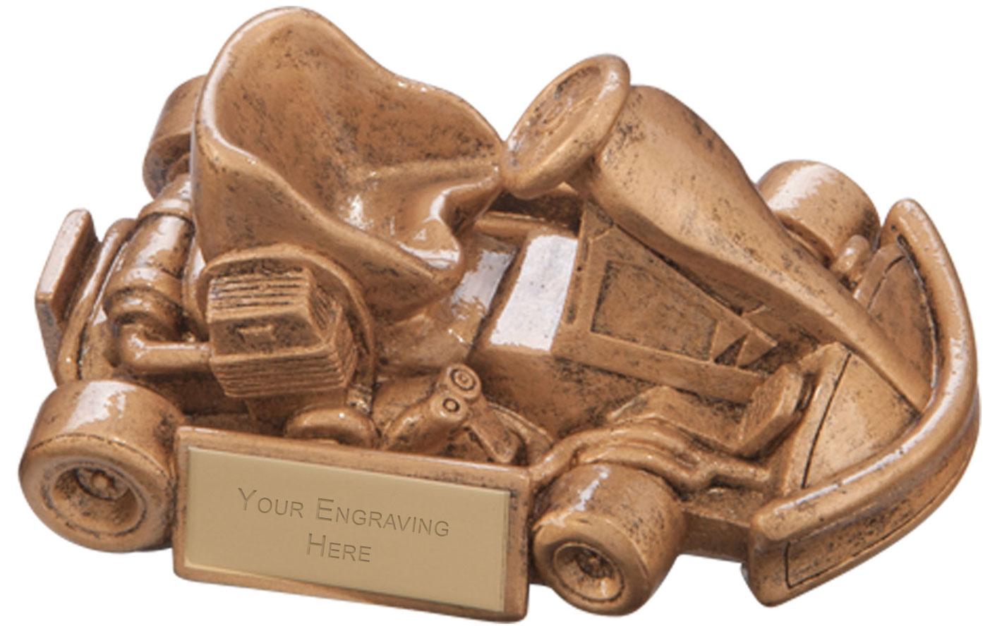 Top Speed Karting Award 6 x 12cm