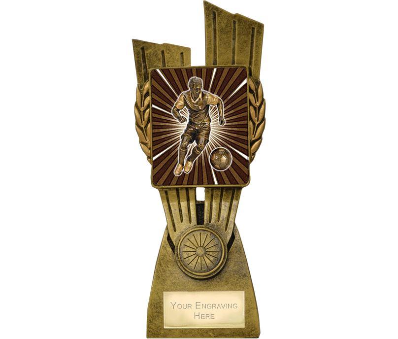 "Lynx Footballer Trophy 21cm (8.25"")"
