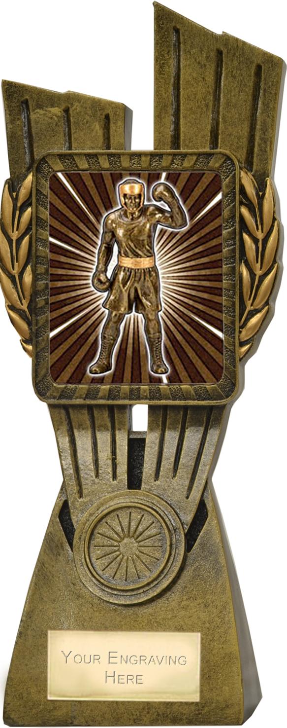 "Lynx Boxing Trophy 24cm (9.5"")"
