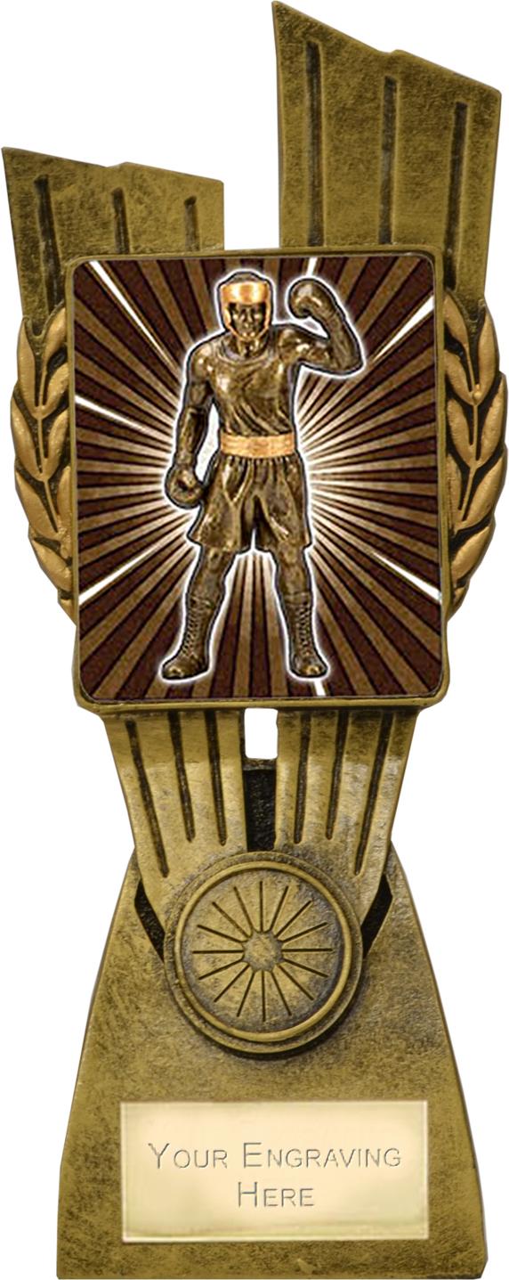 "Lynx Boxing Trophy 21cm (8.25"")"