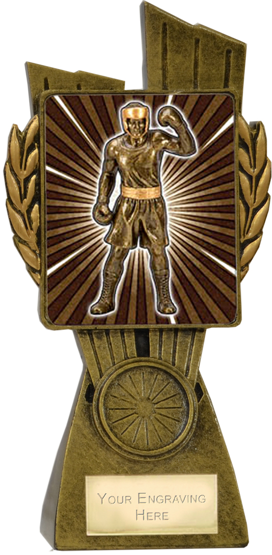 "Lynx Boxing Trophy 17cm (6.75"")"