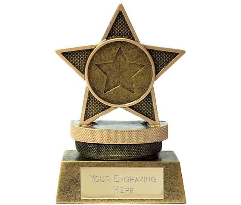 "Mini Star Podium Trophy 7.5cm (3"")"