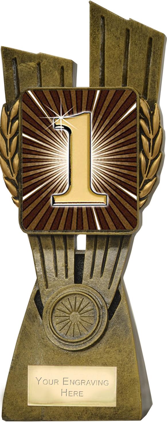 """Lynx 1st Place Trophy 24cm (9.5"""")"""
