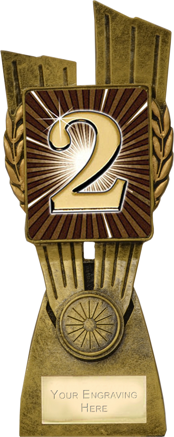"Lynx 2nd Place Trophy 21cm (8.25"")"
