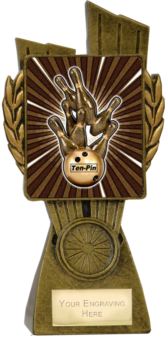 "Lynx Ten Pin Trophy 17cm (6.75"")"