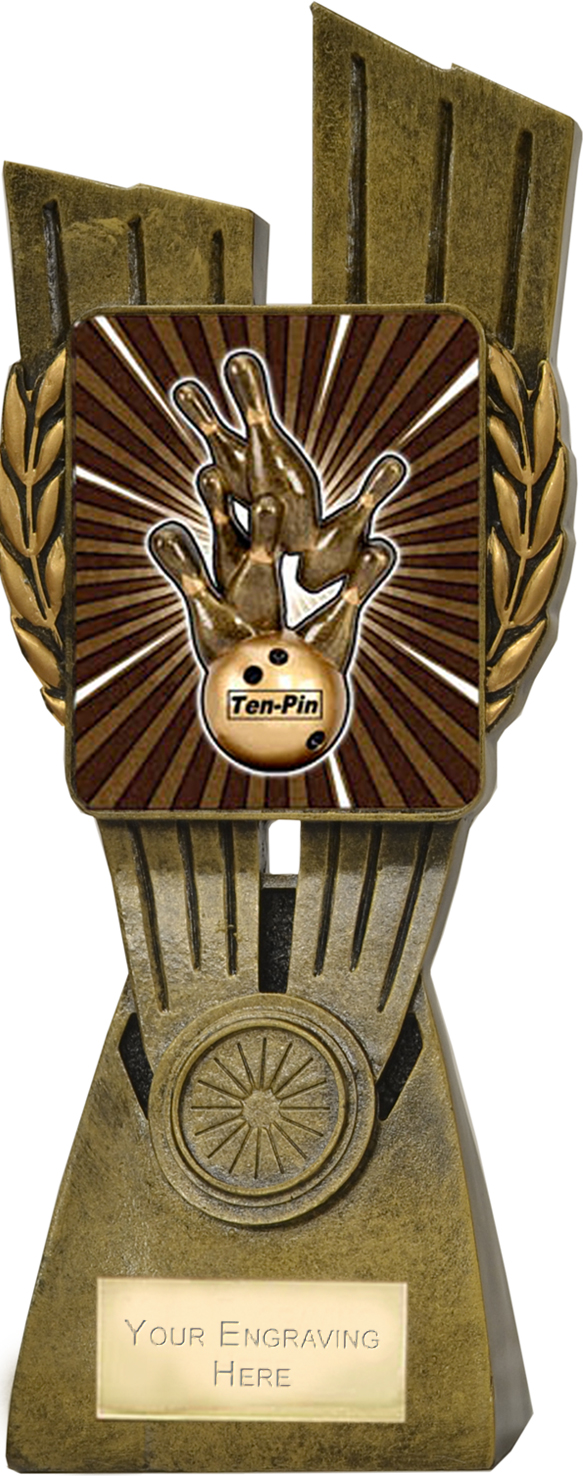 "Lynx Ten Pin Trophy 24cm (9.5"")"