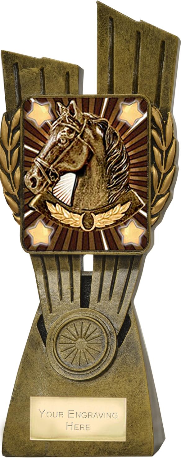 "Lynx Horse Trophy 24cm (9.5"")"