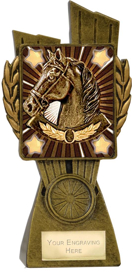 "Lynx Horse Trophy 17cm (6.75"")"