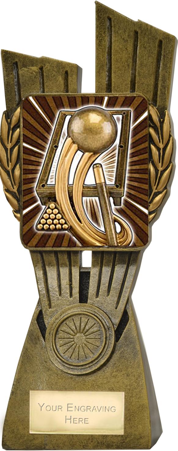 "Lynx Pool/Snooker Trophy 24cm (9.5"")"