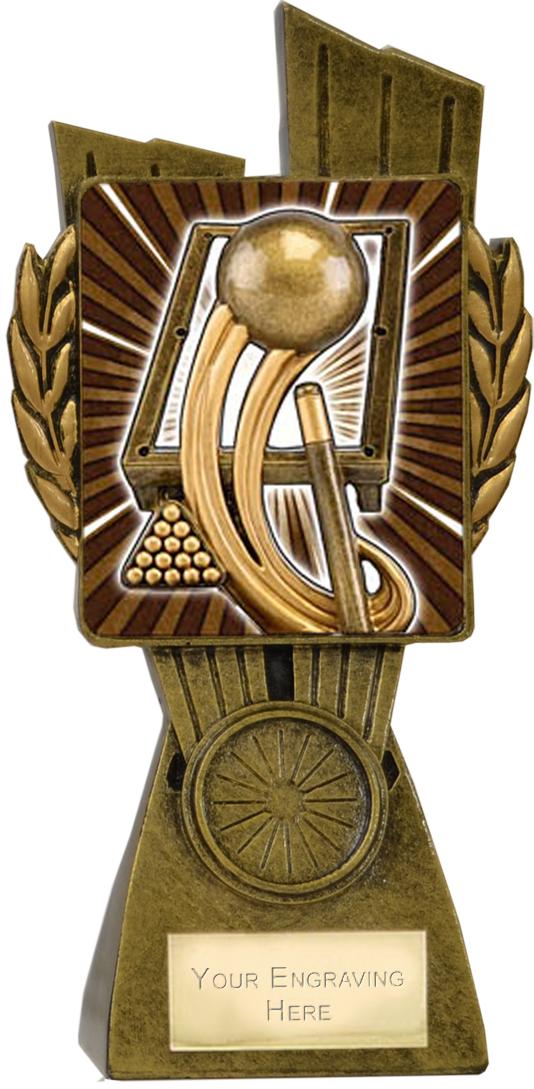 "Lynx Pool/Snooker Trophy 17cm (6.75"")"
