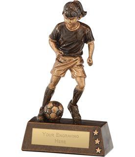 "Protege Girl Football Award 18cm (7"")"