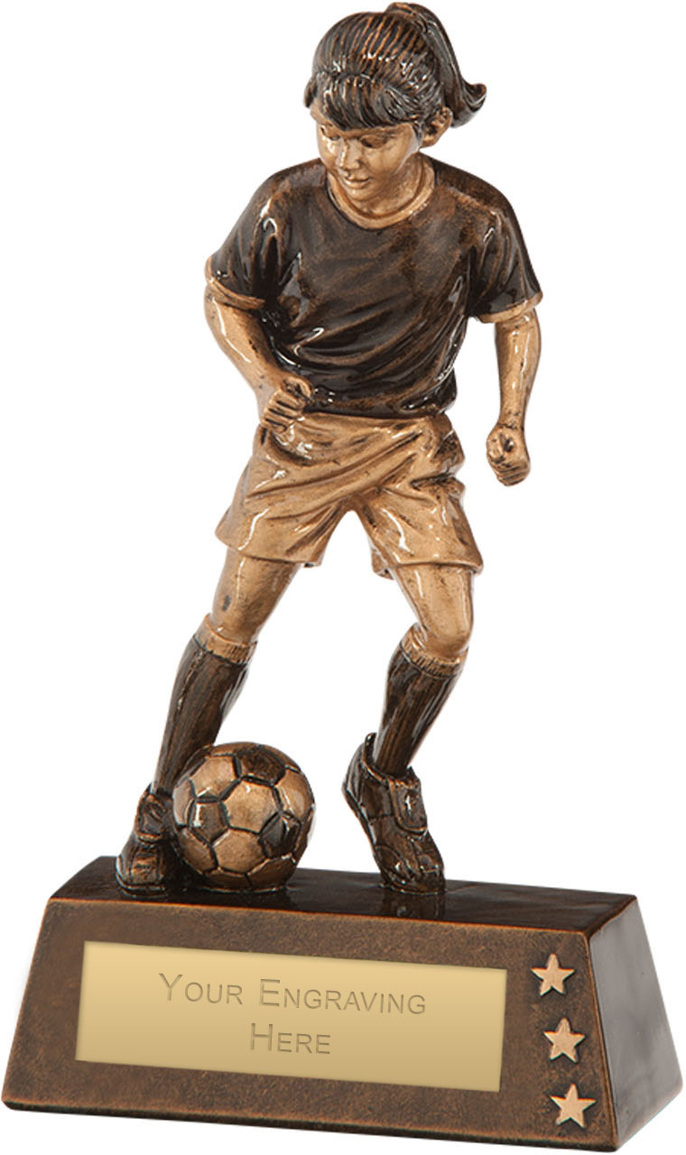 "Protege Girl Football Award 18cm (7"")"