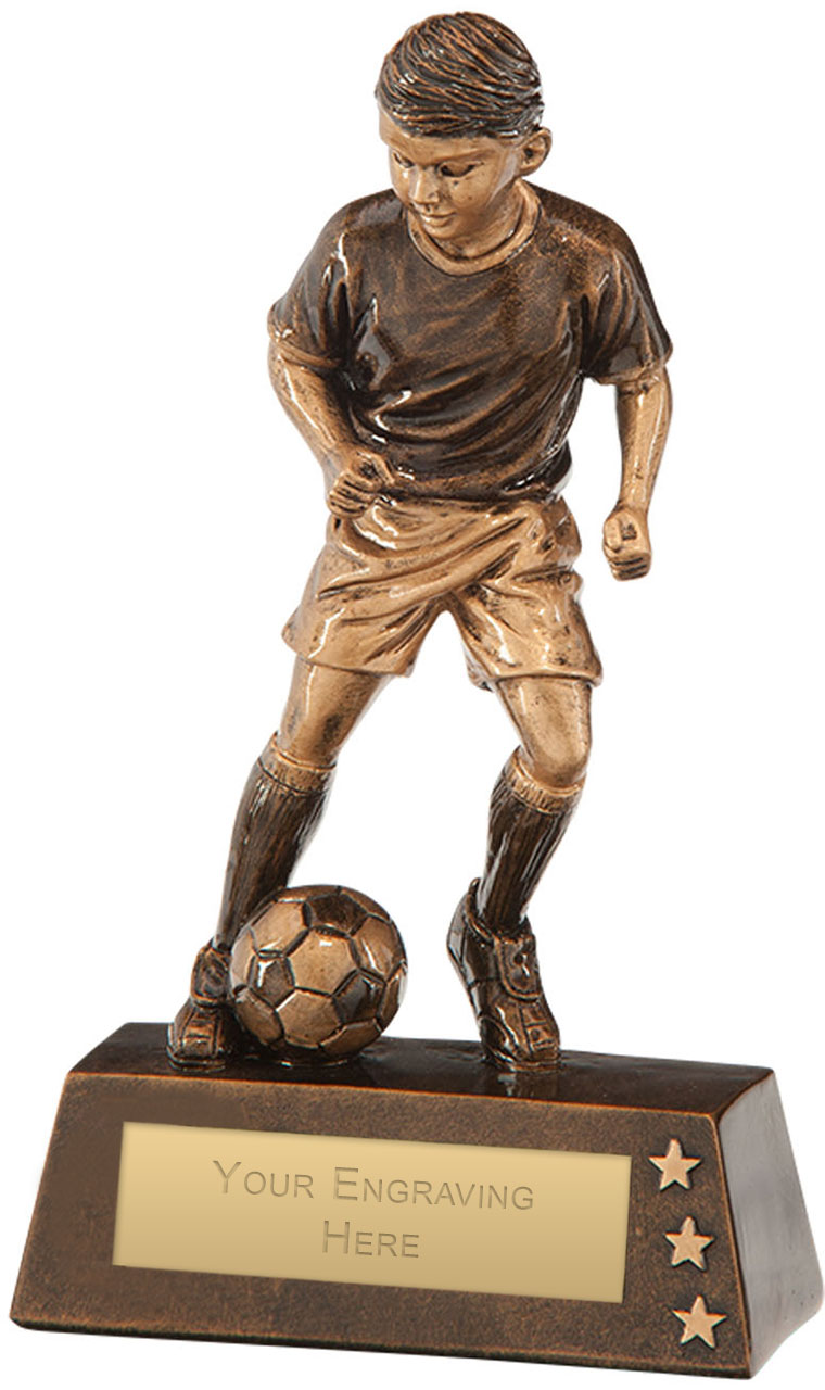 "Protege Boy Football Award 18cm (7"")"