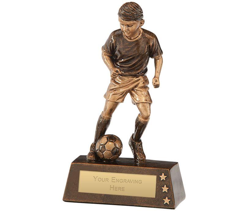"Protege Boy Football Award 15cm (6"")"
