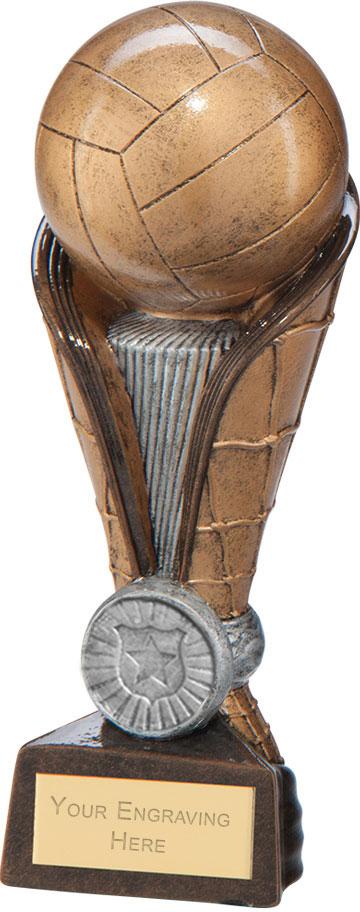"""Spartan Net Tower Netball Award 16.5cm (6.5"""")"""