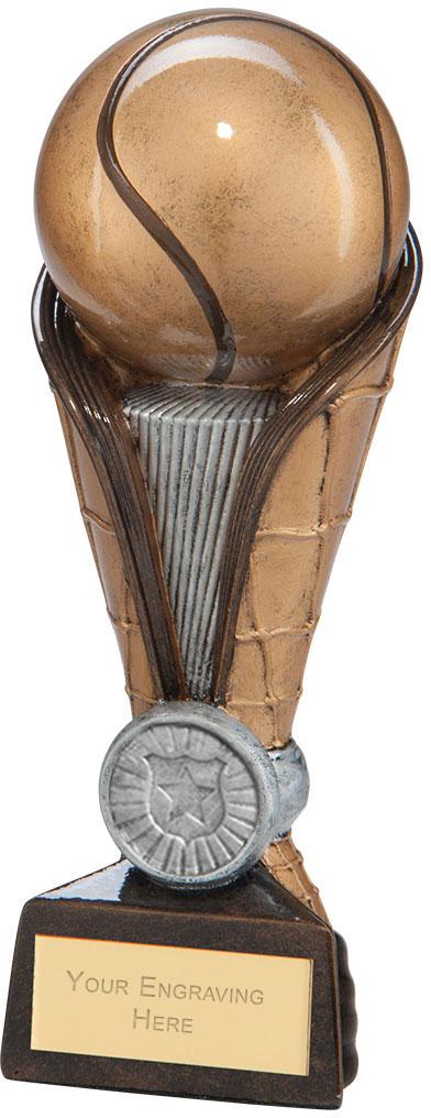 """Spartan Net Tower Tennis Award 18.5cm (7.25"""")"""