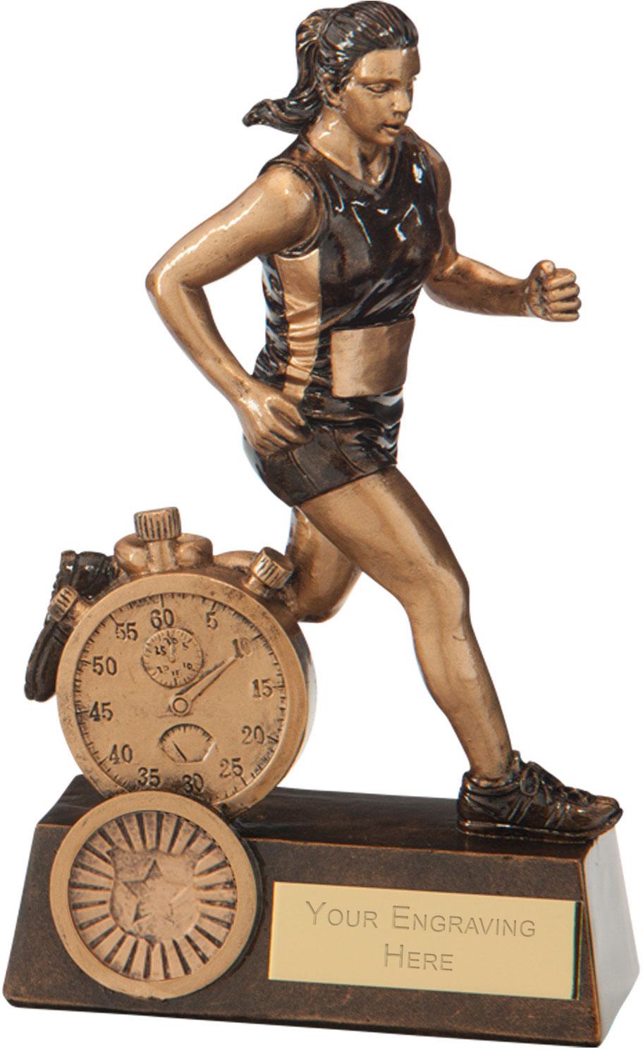 """Endurance Female Running Award 16.5cm (6.5"""")"""