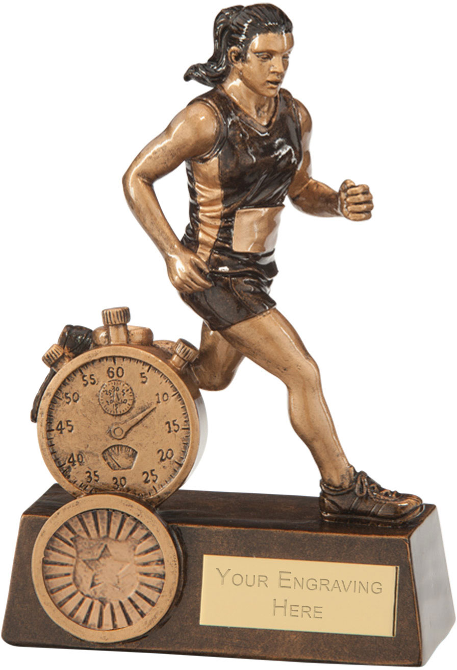 "Endurance Female Running Award 14.5cm (5.75"")"