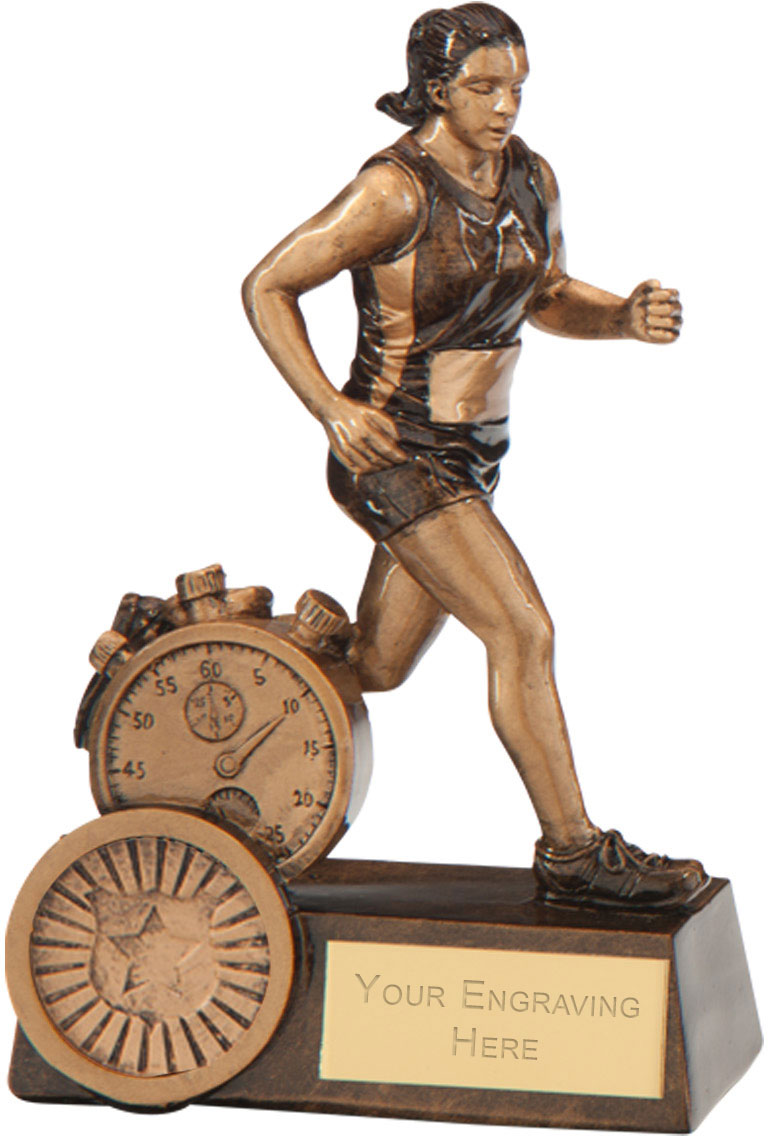 "Endurance Female Running Award 12.5cm (5"")"