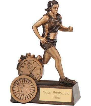 """Endurance Female Running Award 12.5cm (5"""")"""