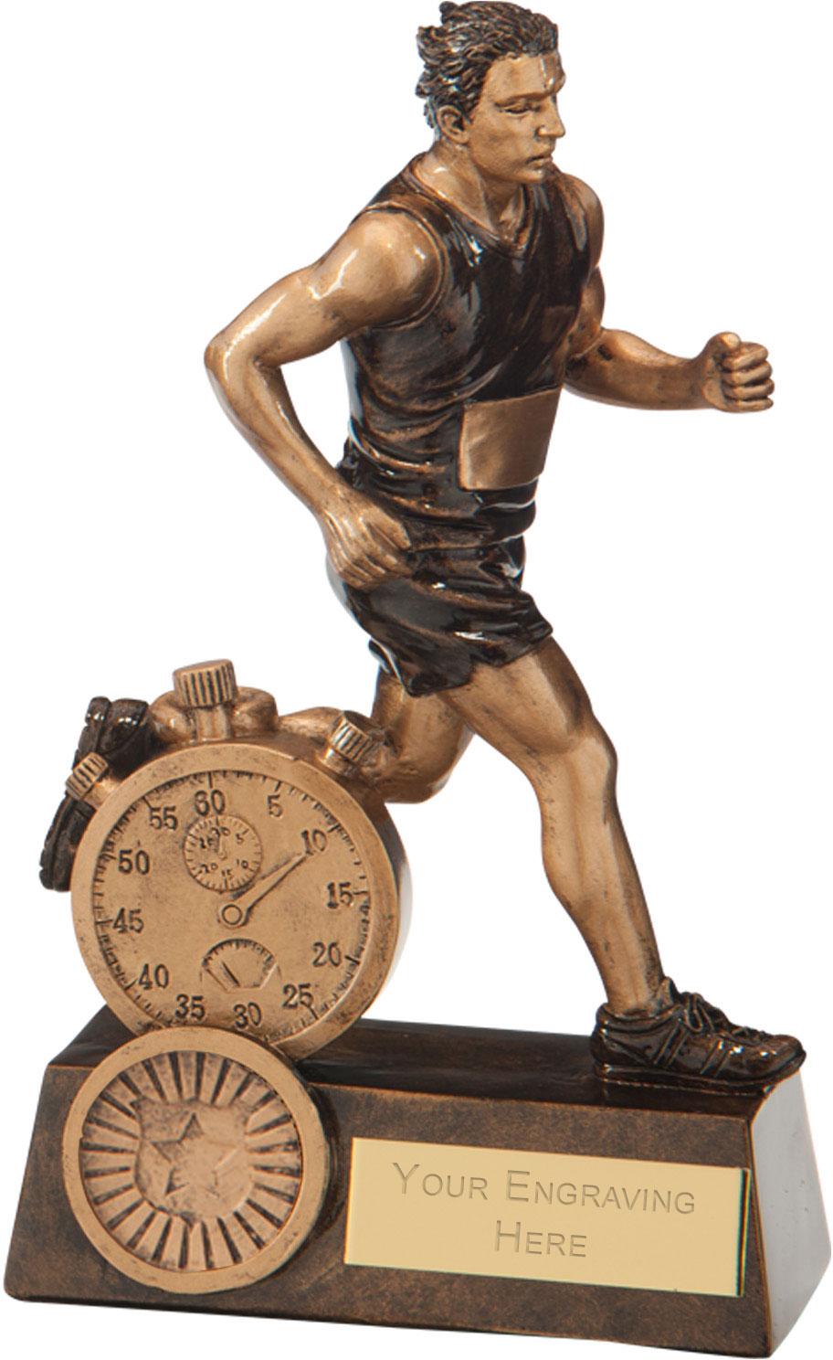 "Endurance Male Running Award 16.5cm (6.5"")"
