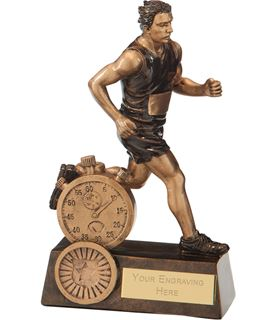 "Endurance Male Running Award 16.5cm (6.5"")"