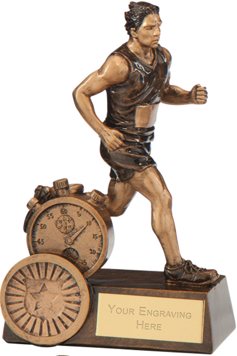 "Endurance Male Running Award 12.5cm (5"")"