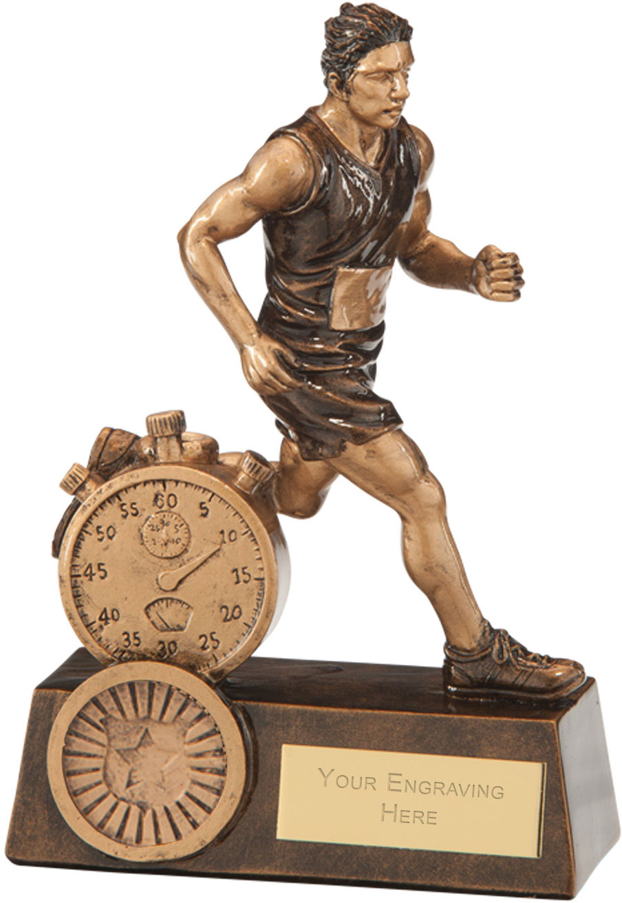 "Endurance Male Running Award 14.5cm (5.75"")"