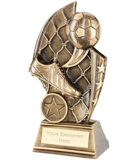"""Football Curved Plaque Trophy 17cm (6.75"""")"""
