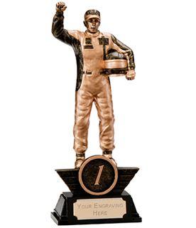 "1st Place Resin Motorsport Podium Figure Trophy 17.5cm (6.75"")"