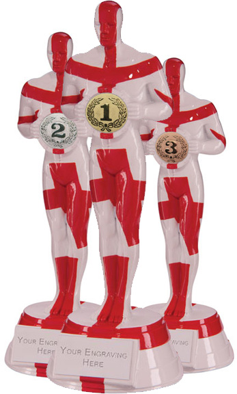 St George Resin Achievement Award Set of 3