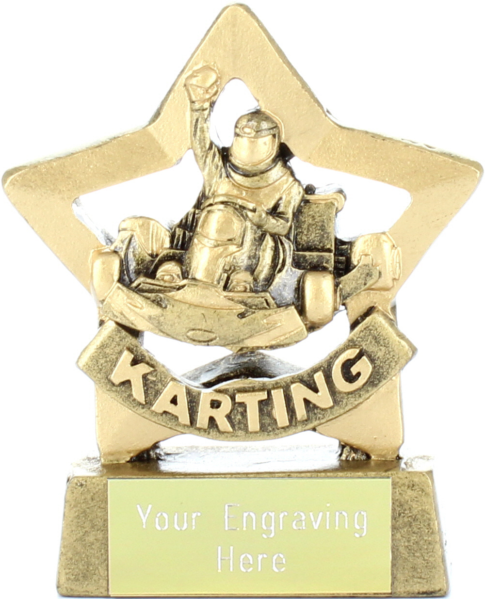 "Mini Stars Karting Award 8.5cm (3.25"")"