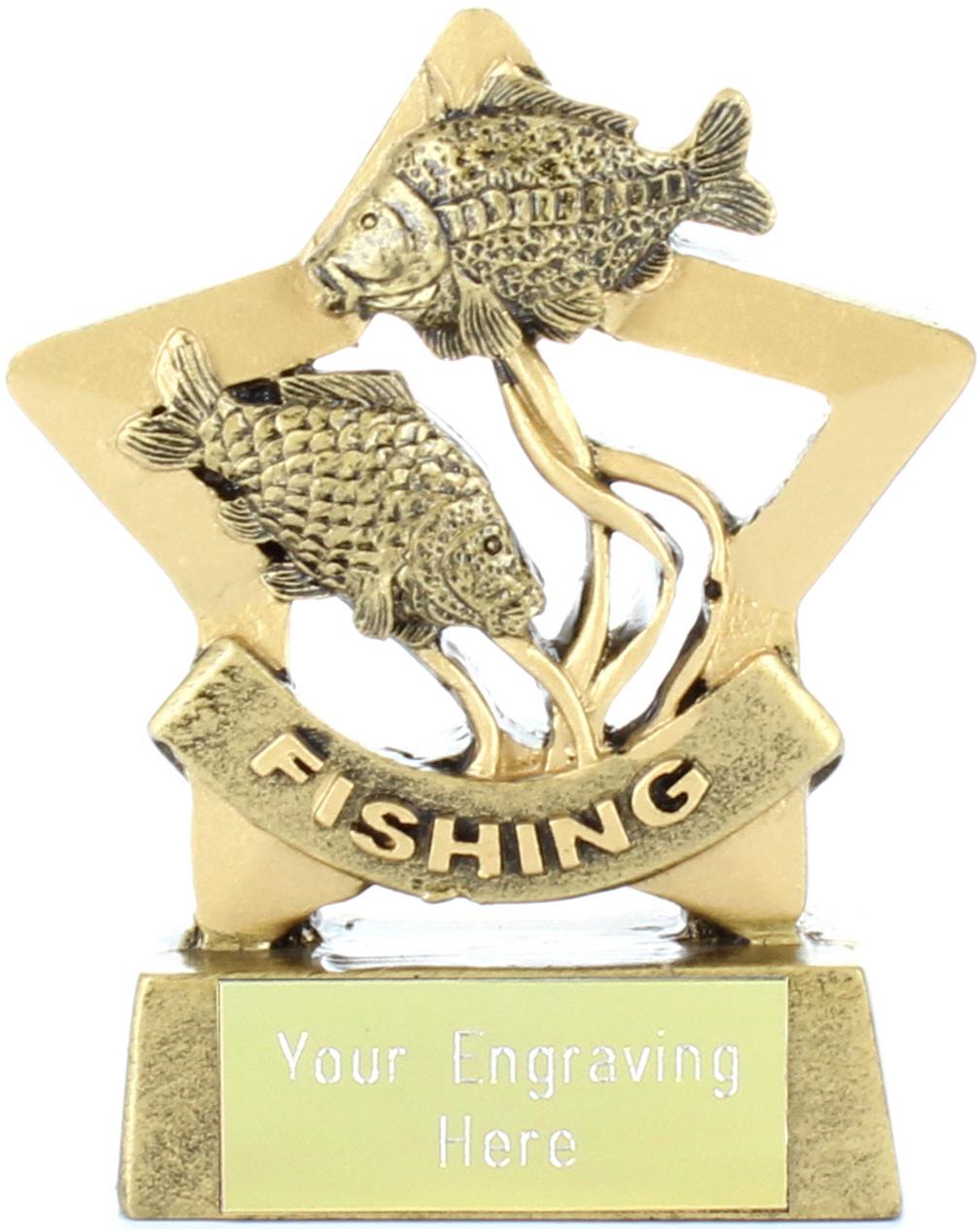 """Mini Stars Fishing Award 8.5cm (3.25"""")"""