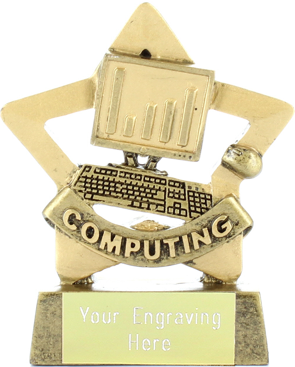 "Mini Stars Computing Award 8.5cm (3.25"")"