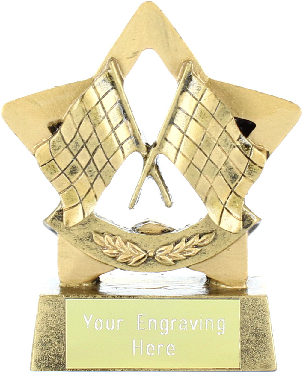"Mini Stars Motor Sport Trophy Award 8.5cm (3.25"")"