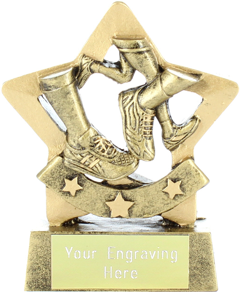 "Mini Stars Running Award 8.5cm (3.25"")"