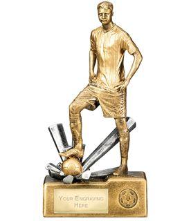 "Male Football Krypton Trophy 30cm (12"")"