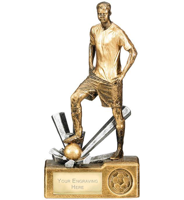 "Male Football Krypton Trophy 20cm (8"")"