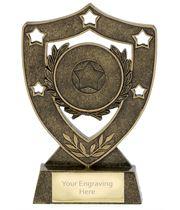 "Multi Award Shield Stars Trophy 15.5cm (6"")"