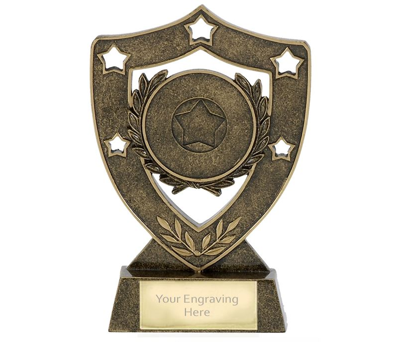 "Multi Award Shield Stars Trophy 12.5cm (5"")"