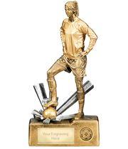 "Female Football Krypton Trophy 30cm (12"")"